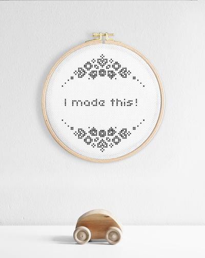 I made this (Digital embroidery pattern)