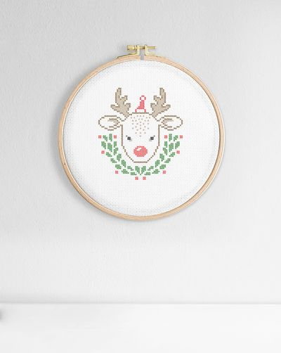 Little reindeer (Digital embroidery pattern)