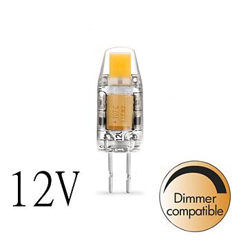 Dimbar LED lampa COB 2800K 150lm G4 1,5W lamportillallt