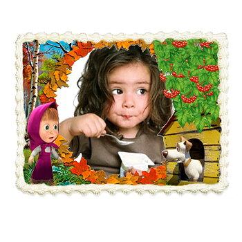 Kakebilde Marsha 3 m/ eget bilde