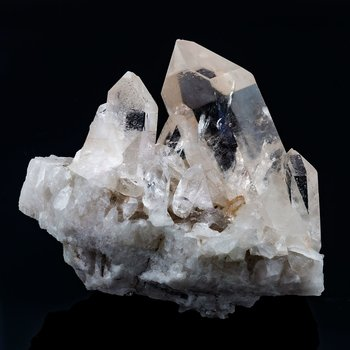 Rock crystal cluster