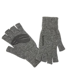 Simms Wool 1/2 Finger Glove
