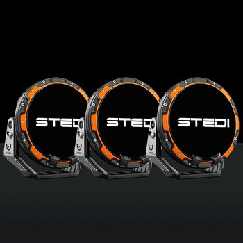 STEDI Type-X PRO LED Extraljus 3-pack