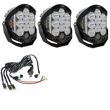 Baja Designs LP9, LED Light 105W 3-pack