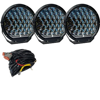 Avelux Summit Pro 225 LED Driving Light 3-pack