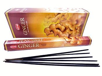 Indisk  Rökelse  - Ginger (Ingefära) - Hem
