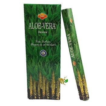 Rökelse - Aloe Vera -  Hexagon Paket, SAC