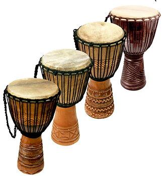Djembetrumma - Deep carved - 70cm - Djembe - afrikansk trumma
