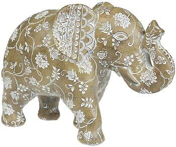 Beige Elefant