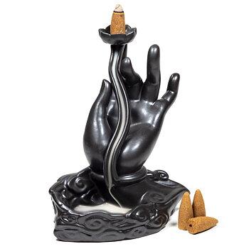 Backflow Rökelse brännare - Lotus Mudra