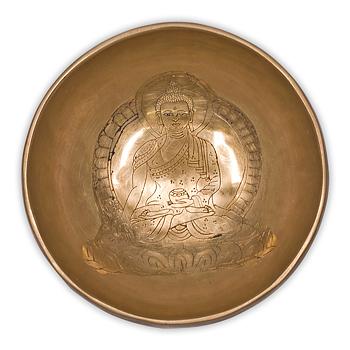 Medicine Buddha Sjungande Skål - Singing Bowl