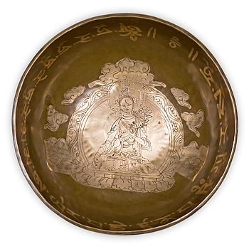Tara Buddha Healing Sjungandeskål /Klängskål