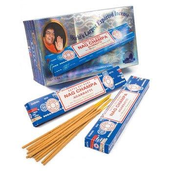 Nag Champa Rökelse -  Stor Paket