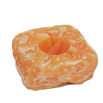 Orange Kalcit Ljuslykta