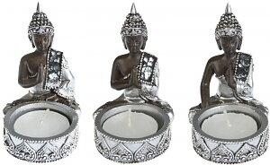 Thai Buddha värmeljushållare - Set