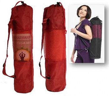 Röd Yogamatt  Väska
