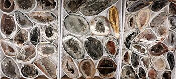 Fjäder Agat (ocos)  Geoder