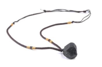 Rå Turmalin Halsband