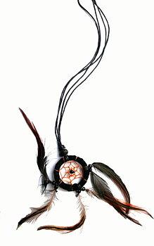 Drömfångare halsband Alt. Dekoration