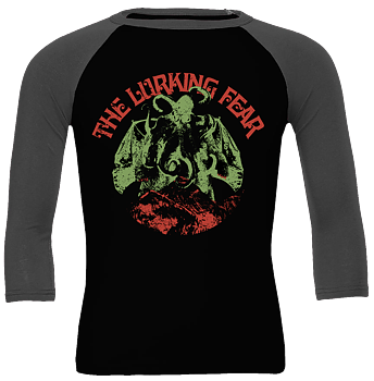 THE LURKING FEAR - Octobat Green Baseball shirt