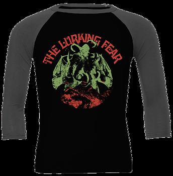 THE LURKING FEAR - Octobat Green Baseball shirt