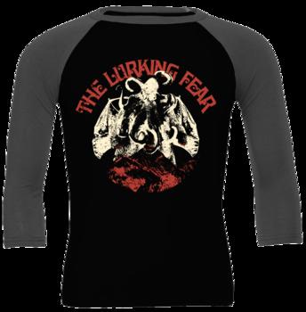 THE LURKING FEAR - Octobat Beige Baseball shirt