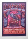 Mander - Bagage Exhibition Poster Purple