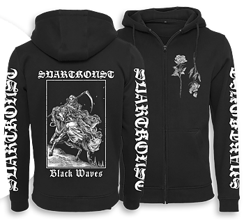 SVARTKONST - Black Waves Zip Hood