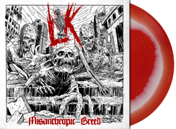 LIK - Misanthropic Breed (White/Red melt) LP
