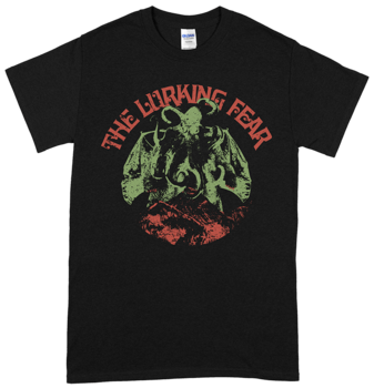 THE LURKING FEAR - Octobat Green T-shirt