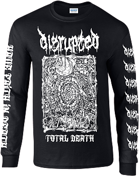 DISRUPTED - Total Death Longsleeve [PRE-ORDER]