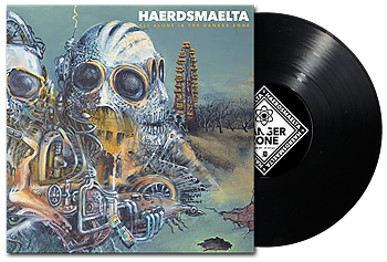 HAERDSMAELTA - All Alone in The Danger Zone LP [PRE-ORDER]