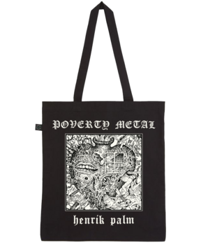 HENRIK PALM - Poverty Metal Totebag