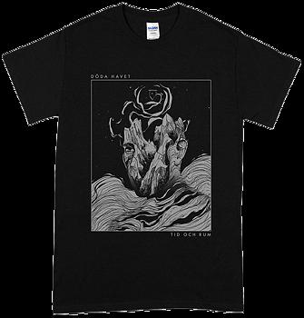 DÖDA HAVET - Tid och rum Svart T-shirt