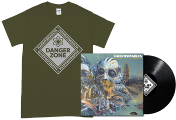HAERDSMAELTA - All Alone in The Danger Zone LP + Green T-shirt [PRE-ORDER]