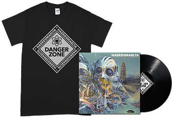 HAERDSMAELTA - All Alone in The Danger Zone LP + Black T-shirt [PRE-ORDER]