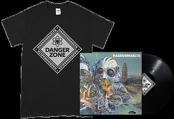 HAERDSMAELTA - All Alone in The Danger Zone LP + Black T-shirt [PRE-ORDER]