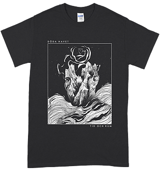 DÖDA HAVET - Tid och rum Dark Grey T-shirt