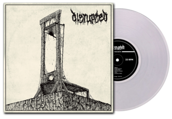DISRUPTED - Pure Death LP CLEAR VINYL