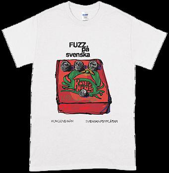 KUNGENS MÄN - Fuzz på Svenska T-shirt [PRE-ORDER]