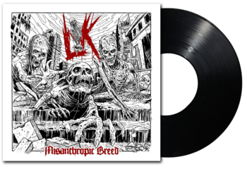 LIK - Misanthropic Breed LP BLACK VINYL