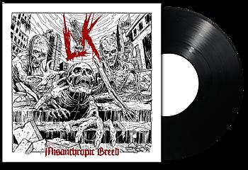 LIK - Misanthropic Breed LP SVART VINYL