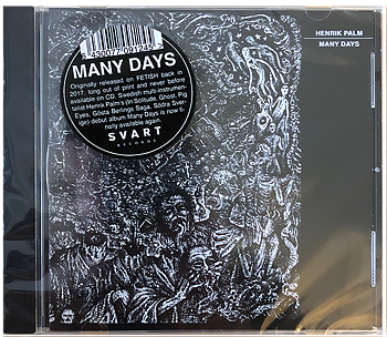 HENRIK PALM - Many Days CD