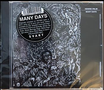 HENRIK PALM - Many Days CD