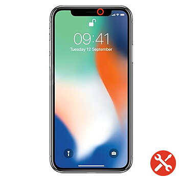 iPhone XR Byte av frontkameran