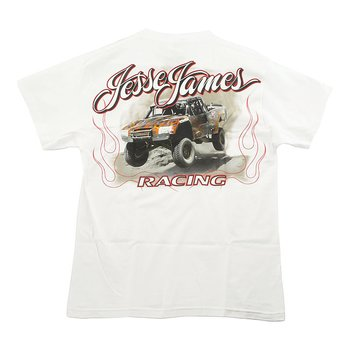 "JESSE JAMES T-SHIRT "" FRÅN WESTCOAST CHOPPERS"" VIT, MEDIUM"