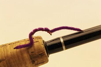 Mask, Lila / Worm Purple