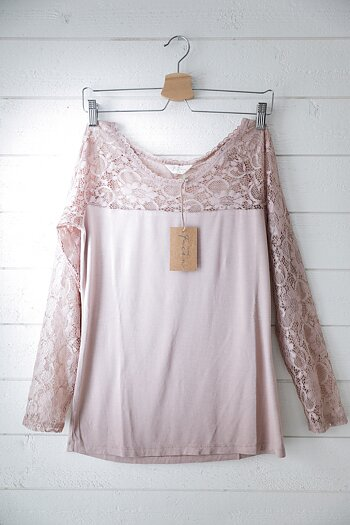 Jeanne d`Arc Living - Lace top old rose