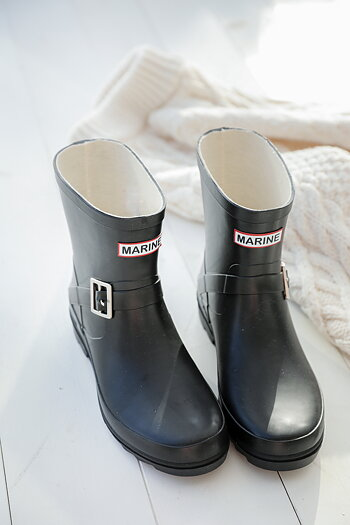 Handpicked - Black rubber boots