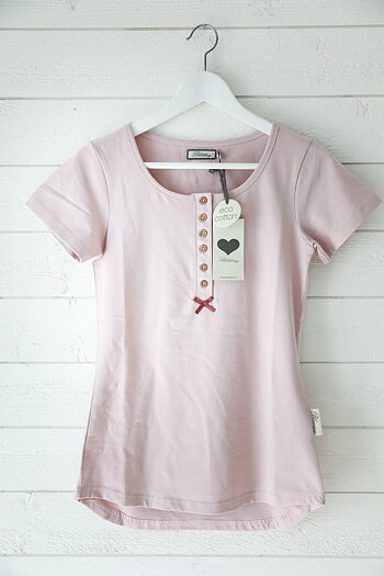 Blooming - Honey shortsleeved top dusty pink